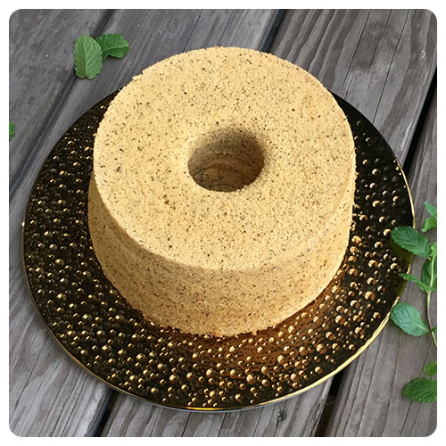 伯爵茶米戚風蛋糕